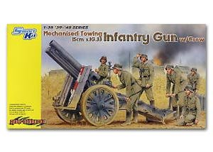 Mechanised Towing 15cm s.IG.33 Infantry   (Vista 1)