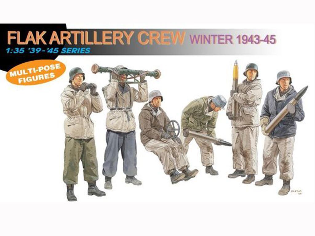 German Flak Artillery Crew - Ref.: DRAG-6275