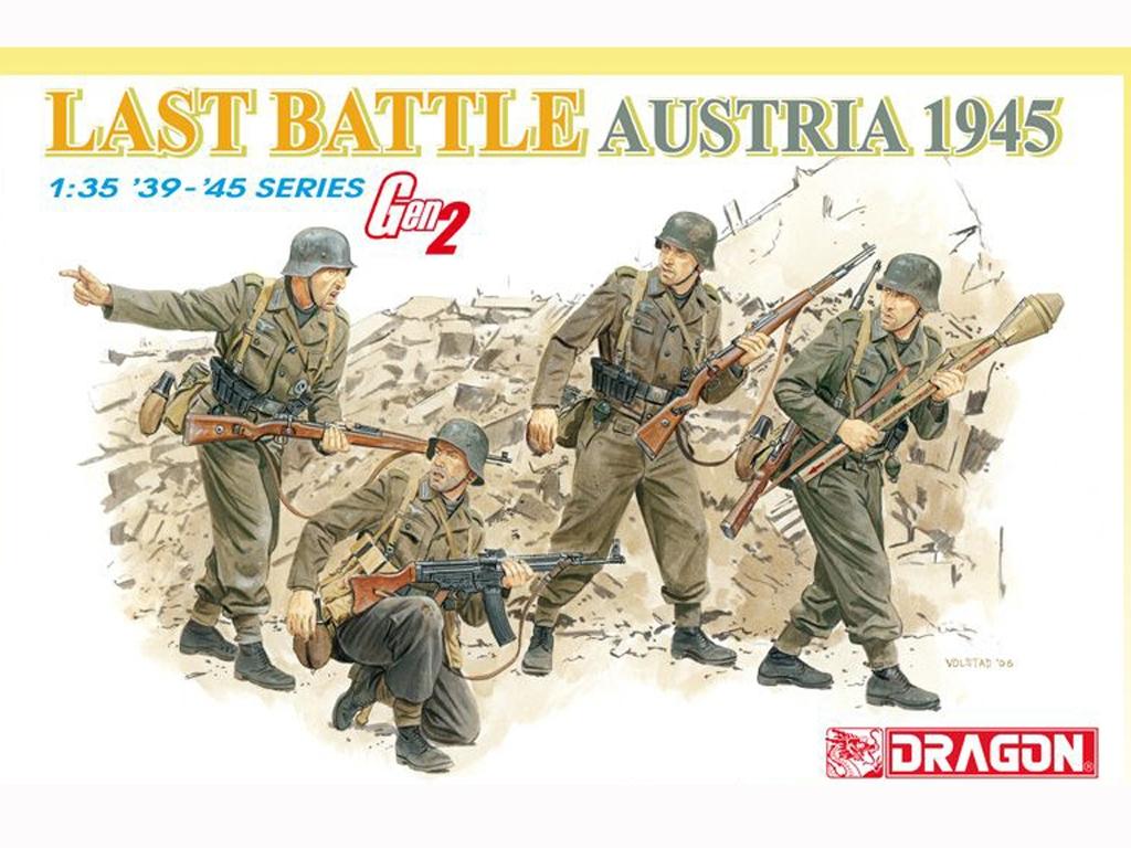 Granaderos Alemanes Last Battle Austria   (Vista 1)