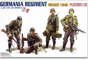 Regimiento Aleman en Francia 1940  (Vista 1)