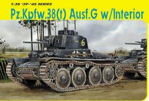 Panzer 38(T) Ausf.G con interior - Ref.: DRAG-6290