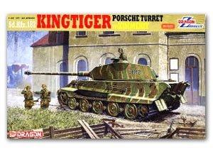 Kingtiger Porsche Turret w/Zimmerit  (Vista 1)