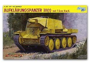 Aufklärungspanzer 38(t) con cañón 7,5 cm - Ref.: DRAG-6310