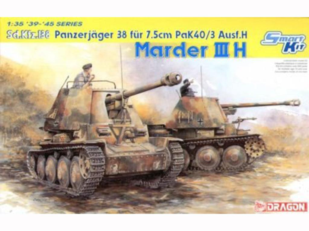 Marder III Ausf.H - Smart Kit - Ref.: DRAG-6331