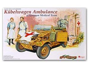 Kubelwagen Ambulancia Equipo Medico Alem - Ref.: DRAG-6336