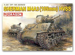 Sherman M4A3 (105mm) HVSS - Ref.: DRAG-6354