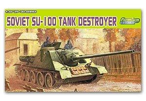 Soviet SU-100 Tank Destroyer - Ref.: DRAG-6359