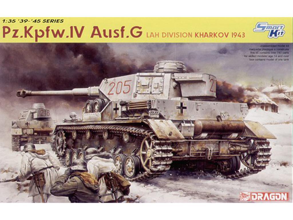 Pz.Kpfw. IV Ausf.G LAH Division. Kharkov - Ref.: DRAG-6363