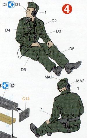 Dotación autopropulsado Marder III H  (Vista 5)