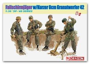 Fallschirmjager w/Kurzer 8cm Granatwerfe  (Vista 1)