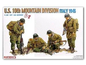 Soldados de montaña USA Italia 1945  (Vista 1)