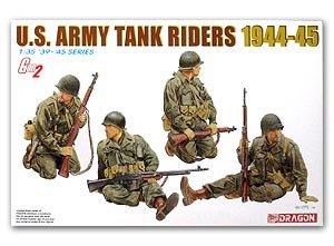 Soldados U.S. Army sobre tanque 1944-45  (Vista 1)