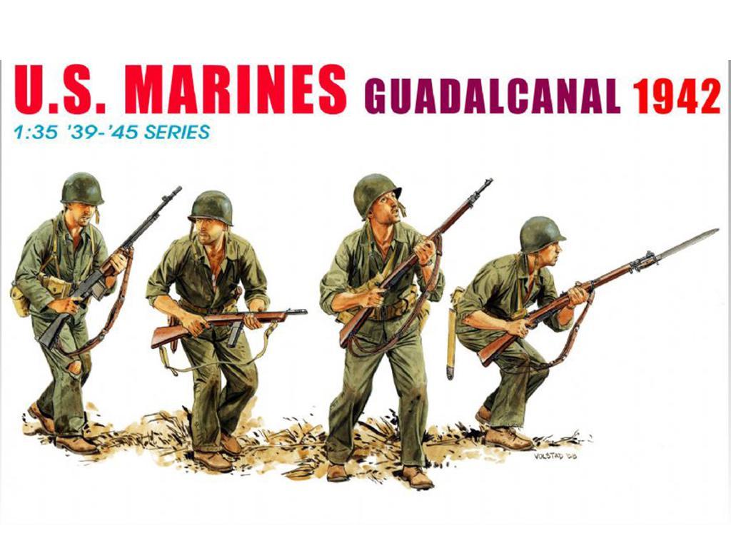 U.S. Marines Guadalcanal 1942  (Vista 1)