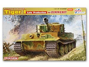 Tiger I Late Production w/Zimmerit
