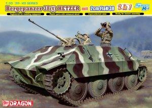Bergepanzer 38(t) HETZER mit 2cm FlaK 38  (Vista 1)