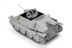 Bergepanzer 38(t) HETZER mit 2cm FlaK 38  (Vista 4)