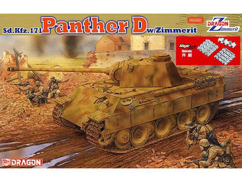 Panther D w/Zimmerit Coating - Ref.: DRAG-6428
