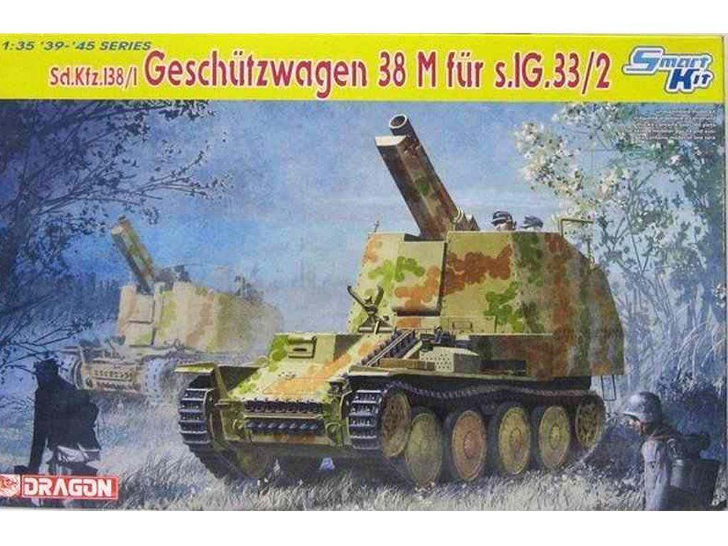 Grille M  Sd.Kfz.138/1 - Ref.: DRAG-6429