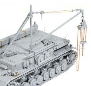 Sd.Kfz.164 Bergeanzerwagen IV Recovery T  (Vista 6)