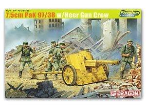 Cañon aleman 7.5cm Pak 97/38  (Vista 1)