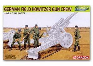 Artilleros Alemanes Howitzer - Ref.: DRAG-6461