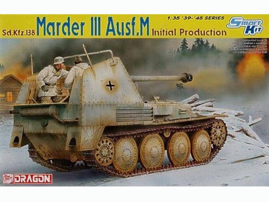 Marder III Ausf.M Producción inicial - Ref.: DRAG-6464
