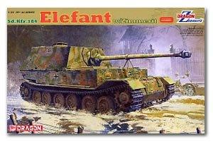Sd.kfz.184 Elefant w/Zimmerit - Ref.: DRAG-6465
