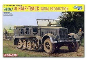 Sd.Kfz.7 8t Half-Track Initial Productio  (Vista 1)