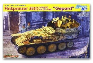 Sd.Kfz.140 38(t) Anticraft Tank Gepard - Ref.: DRAG-6469