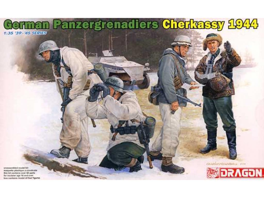 German Panzergrenadiers Cherkassy 1944  (Vista 1)