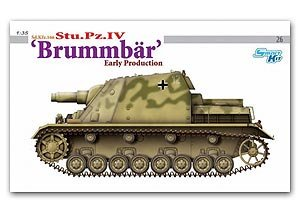 Sd.Kfz.166 Stu.Pz.IV Brummbar Early Prod - Ref.: DRAG-6497