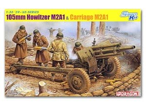 Howitzer M2A1 & Carriage M2A1, 105mm  (Vista 1)