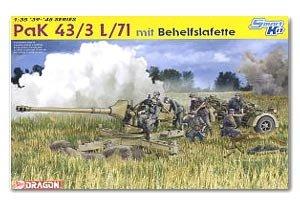 Pak 43/3 L/71 mit Behelfslafette  (Vista 1)