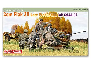 FlaK 2cm  38 Late Production mit Sd.Ah.5  (Vista 1)