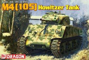 WWII M4 (105) Howitzer Tank   (Vista 1)