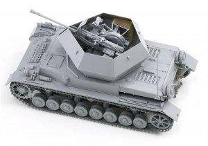 3.7cm Flak 43 Flakpanzer IV Ostwind  (Vista 5)