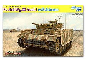Pz.Bef.Wg.III Ausf.J w/Schurzen  (Vista 1)