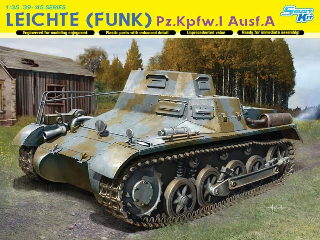 Leichte (Funk) Pz.Kpfw.I Ausf.A  (Vista 1)