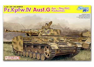 Pz.Kpfw. IV Ausf.G 1943 April-May   (Vista 1)