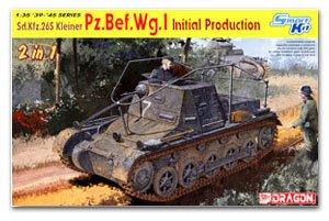 Sd.Kfz. 265 1st Small Tank Commander Ver  (Vista 1)