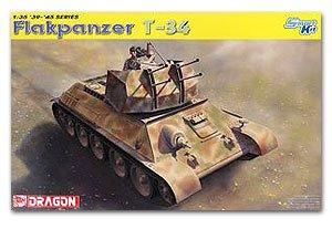 Flakpanzer T-34r  (Vista 1)