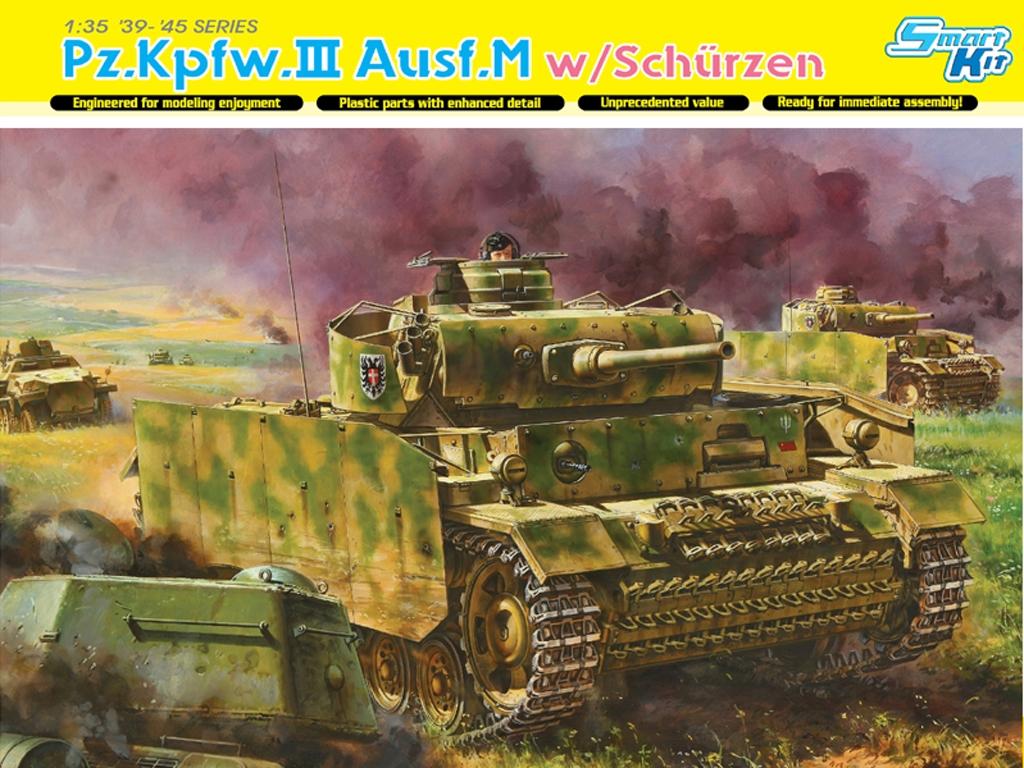 Pz.Kpfw.III Ausf.M w/Schurzen  (Vista 1)
