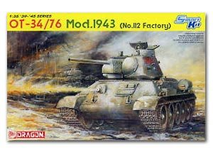 OT-34/76 Middle Tank 1943 Type (Factory   (Vista 1)