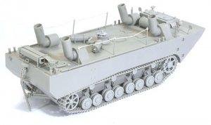 Panzerfahre Gepanzerte Landwasserschlepp  (Vista 3)