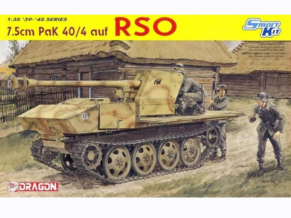 7.5cm PaK 40/4 auf RSO - Ref.: DRAG-6640