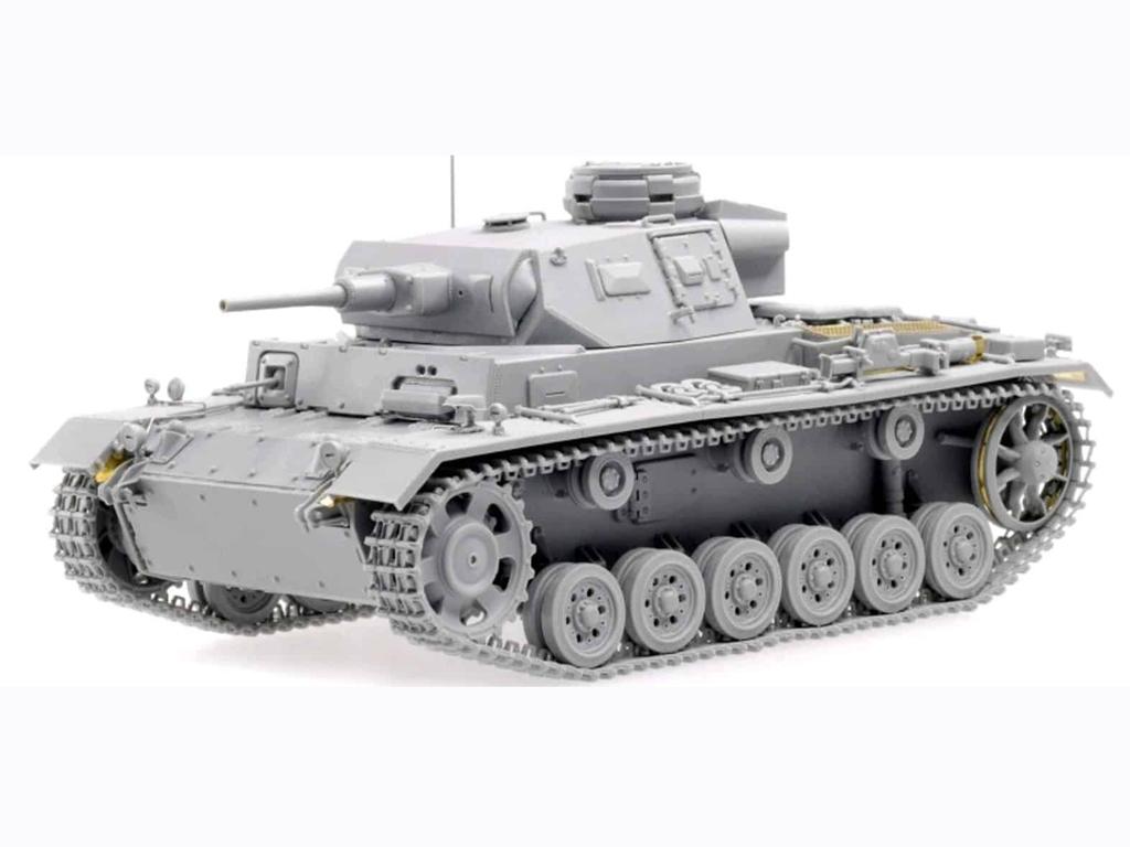 Sd.Kfz.141 Pz. Kpfw.III (5cm) Ausf. H, L  (Vista 2)