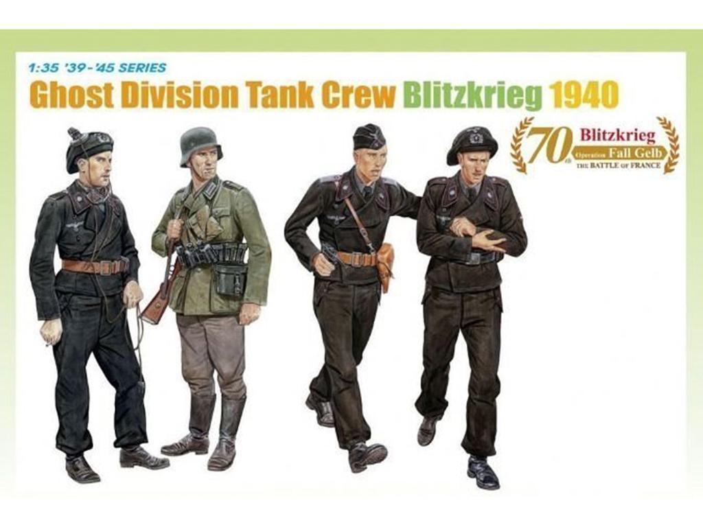 Ghost Division Tank Crew Blitzkrieg 1940  (Vista 1)