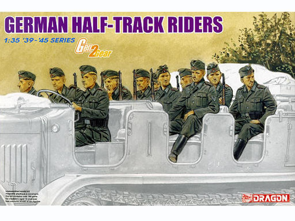 German Half-Track Riders  - Ref.: DRAG-6671