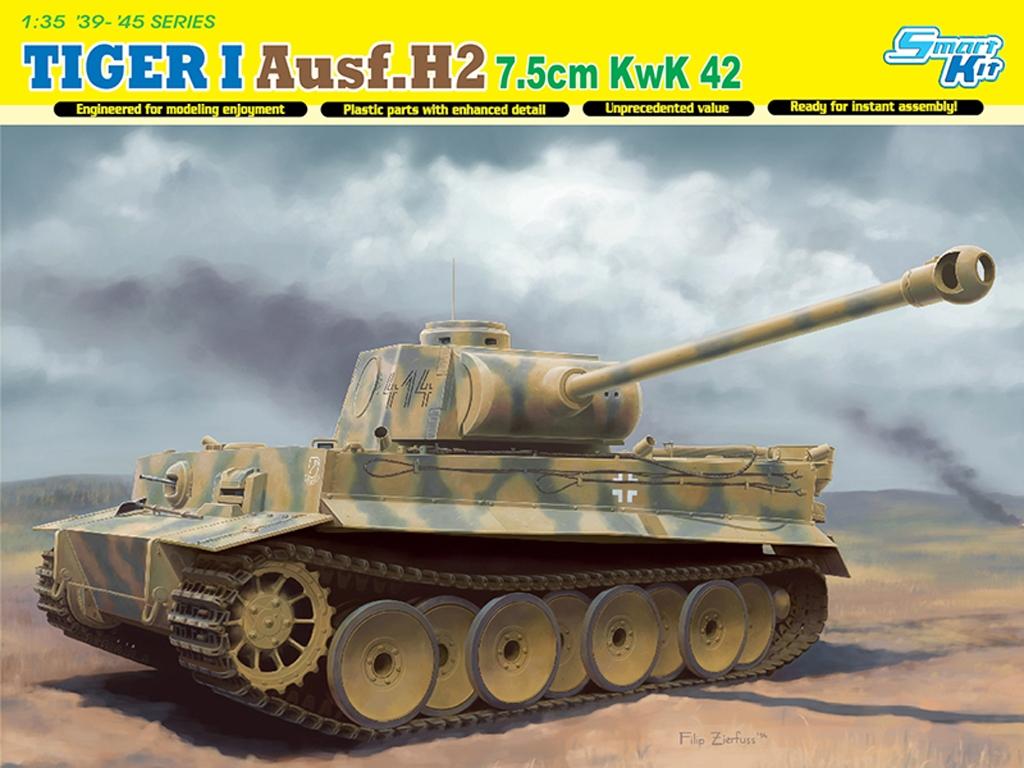 Tiger I Ausf.H2 7.5cm KwK 42  (Vista 1)