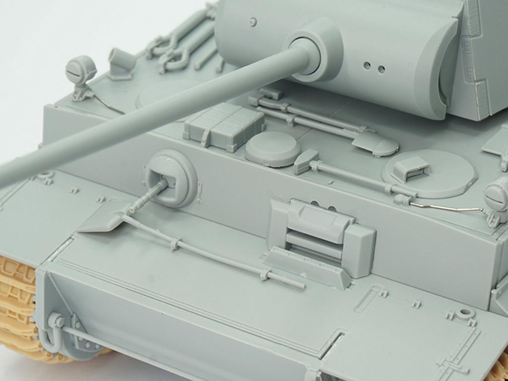 Tiger I Ausf.H2 7.5cm KwK 42  (Vista 11)